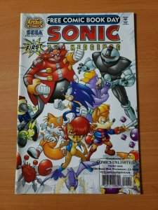 Sonic The Hedgehog #1 FCBD Variant ~ NEAR MINT NM ~ 2008 Archie Comics