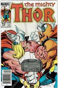 Thor #338 (1966 v1) Walt Simonson Beta Ray Bill Newsstand NM