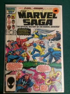 The Marvel Saga #16