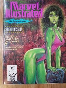Marvel Illustrated The Swimsuit Issue PREMIER ISSUE!