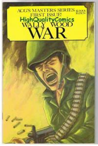 WALLY WOOD WAR #1, VF/NM, ACG, WWII, D-Day, 1995, more War in store