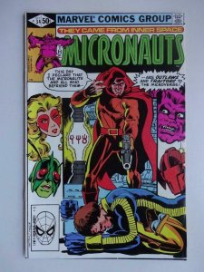 MICRONAUTS #34, NM-, Broderick, Marvel, 1979 1981  more Marvel in store