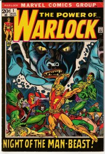 Power of Warlock(1972)# 1 Counter Earth's Only Hope !