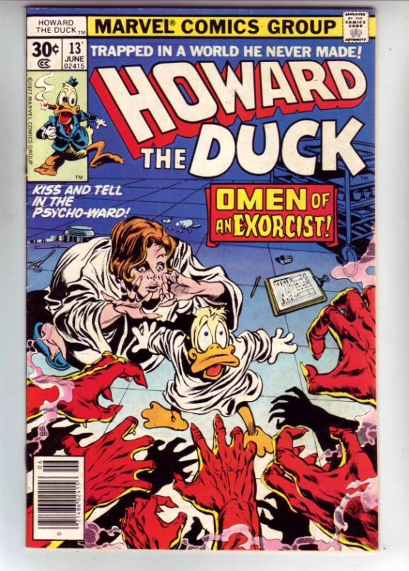 Howard the Duck #13 (Jun-77) NM- High-Grade Howard the Duck