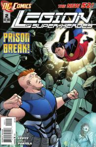 Legion of Super-Heroes (7th Series) #2 VF/NM; DC | save on shipping - details in
