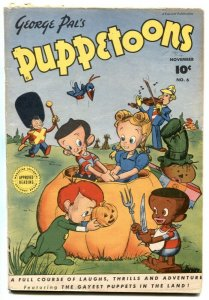 George Pal's Puppetoons #6 1946- Golden Age VG-