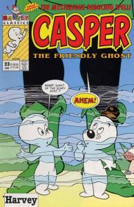 Casper the Friendly Ghost (2nd Series) #23 VF/NM; Harvey   save on shipping - de