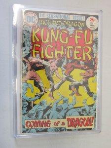 Richard Dragon Kung-Fu Fighter #1 5.5 (1975)
