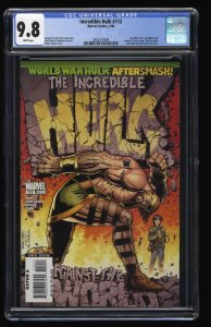 Incredible Hulk (2000) #112 CGC NM/M 9.8 White Pages Annual #1 Homage!