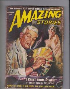 Amazing Stories pulp magazine August 1949