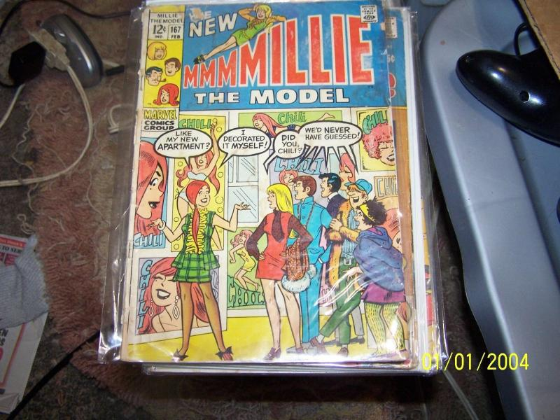 Millie the Model #167 (Feb 1969, Marvel) LOW GRADE STAN LEE