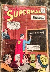 Superman #176 (DC, 1965) Condition: GD