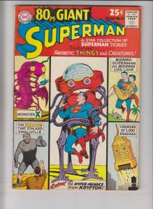 80 Page Giant #6 FN january 1965 - bizarro superman - silver age dc comics