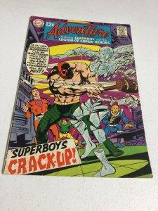 Adventure Comics 372 Gd+ Good+ 2.5 Subscription Fold DC Comics