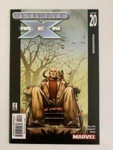 Ultimate X-Men #20 Resignation (2001 Marvel Comics) NM