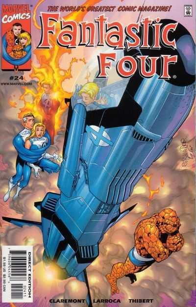 Fantastic Four (1998 series) #24, NM + (Stock photo)