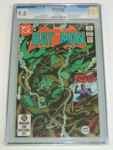 Batman #357 CGC 9.8 killer croc - 1ST JASON TODD - dc comics 1983 white pages