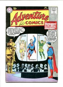 ADVENTURE #279 1960-SUPERBOY-PETER PAN/MERCURY COVER FN