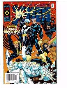 5 X-Men Marvel Comics Amazing # 1 2 4 + Marvel & X-Men Onslaught Apocalypse J90