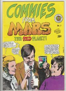 Commies From Mars #1 (Jan-73) FN+ Mid-High-Grade