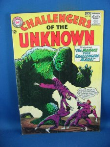 CHALLENGERS OF THE UNKNOWN 38 VG+ 1964