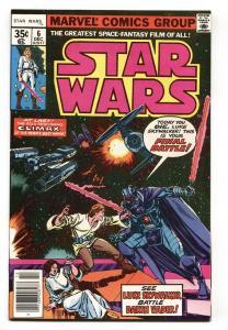 STAR WARS #6-1977- Darth Vader  NM- comic book