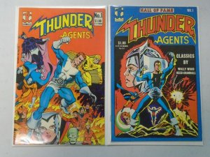THUNDER Agents #1 + Hall of Fame edition 6.0 FN (1983 JC)