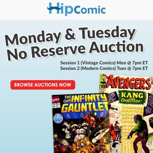 The 146th HipComic No Reserve Auction Event