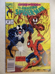 AMAZING SPIDER-MAN # 362 MARVEL 2ND CARNAGE ACTION ADVENTURE VENOM