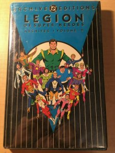 Legion of Super-Heroes Archives Vol. 2 DC Comic Book HARDCOVER Graphic MFT2