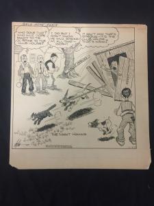 Ed Dodd Back Home Again Original Newspaper Comic Art 12/10/38