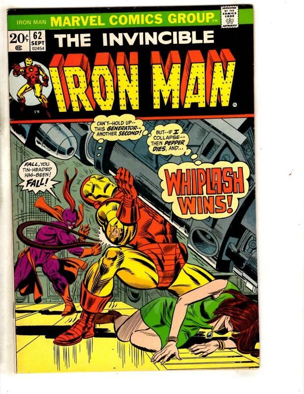 Iron Man # 62 VF Marvel Comic Book Hulk Thor Captain America Avengers Wasp SS10
