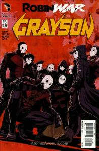 Grayson #15 VF/NM; DC | save on shipping - details inside