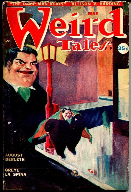 Weird Tales 5/1949-John G Vinta cover-John D MacDonald pulp story-horror-VG-