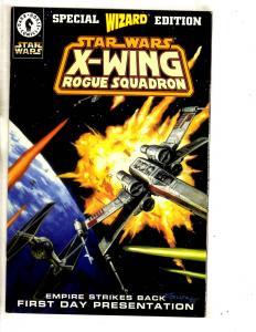 5 Star Wars Comics Wizard X-Wing + Rebel Opposition # 1 2 3 + Return Jedi #4 TP3