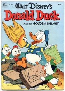 Donald Duck & Golden Helmet- Four Color Comics #408 1952 Carl Barks FN-