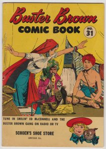 Buster Brown Comics #31 (1953) 4.0 VG Brown Shoe Reed Crandall
