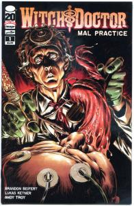 WITCH DOCTOR Mal Practice #1 2 3 4 5 6, NM, 2012, a Sick World, Horror, 1-6 set