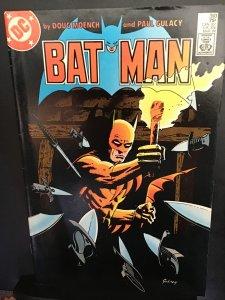Batman #393 (1986) Mid-Grade Paul Gulacy Art Key!  FN