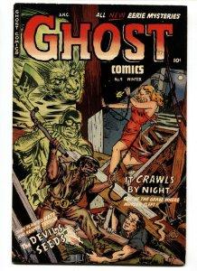 Ghost Comics #9 pre-code horror comic 1953 Fiction House FN+
