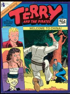 TERRY AND THE PIRATE #1-1986-MILTON CANIFF-TPB-CHINA VG