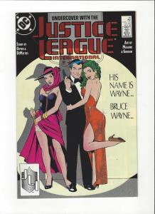 Justice League International #16 1987 DC Comics Copper Age  NM