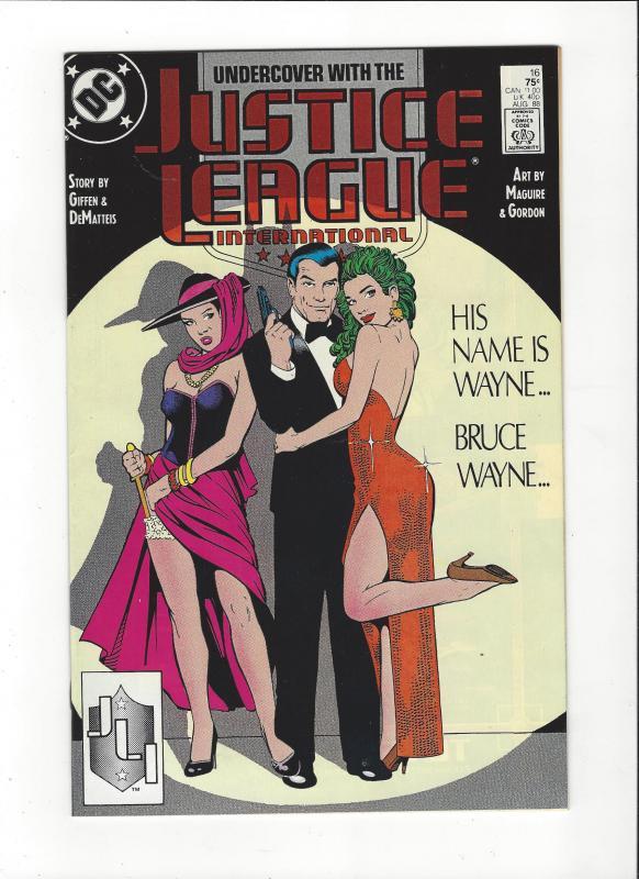 Justice League International #16 1987 DC Comics Copper Age  NM