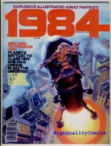 1984 #2, FN, Richard Corben, Wally Wood, Warren,1978, more Warren mags in store