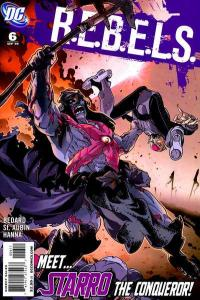 R.E.B.E.L.S. (2009 series) #6, NM (Stock photo)