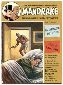 Mandrake the Magician #393 1973- French comic VG