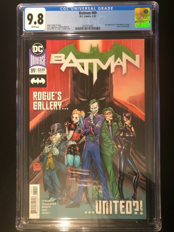 Batman #89 - 1st Cameo of Punchline and The Designer - CGC 9.8