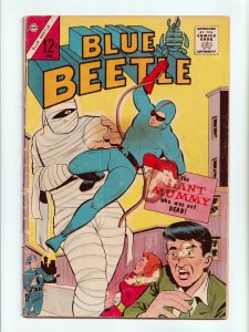 Blue Beetle Vol. 2 #1 1st Silver Age Appearance, Origin Charlton Comics 1964 GD