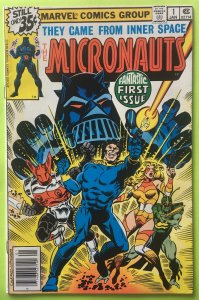 MICRONAUTS 1 FIRST BARON KARZA & BUG MARVEL COMICS