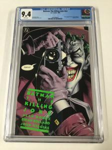 Batman The Killing Joke 1 NN Cgc 9.4 1st First Print Dc Comics